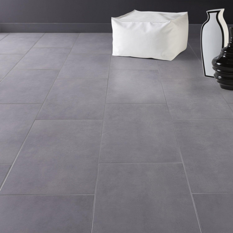 carrelage sol et mur gris galet 3 effet b ton oslo x cm leroy merlin. Black Bedroom Furniture Sets. Home Design Ideas