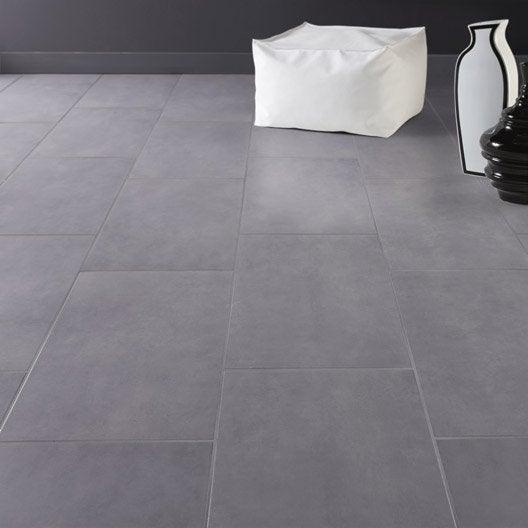 Carrelage sol et mur gris galet 3 effet b ton oslo x for Carrelage 30 60 gris