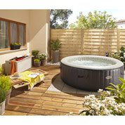 Spa gonflable INTEX Purespa bulles blue navy rond,6 places ...