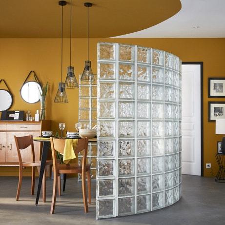 Comment garder de la luminosité tout en séparant une pièce avec des pavés de verre