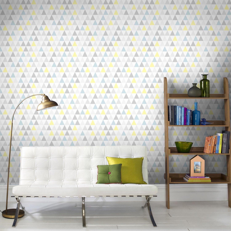 papier peint pour une d co scandinave leroy merlin. Black Bedroom Furniture Sets. Home Design Ideas