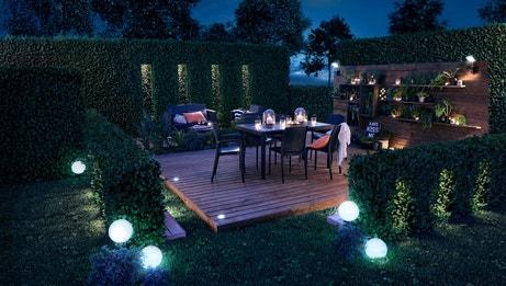 La lampe solaire illumine votre jardin | Leroy Merlin