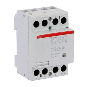 Contacteur ABB, 230 V, 40 A