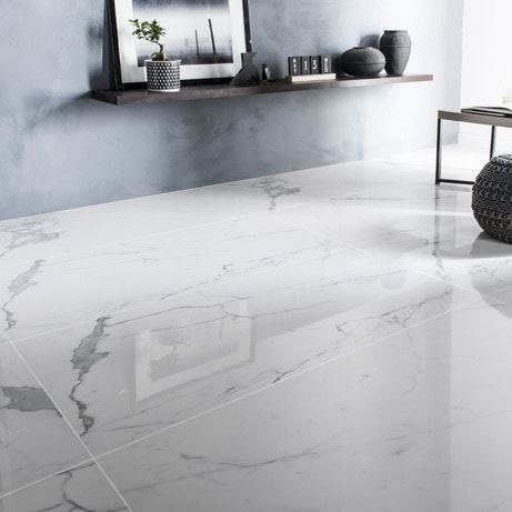 Le carrelage en marbre, classique & chic | Leroy Merlin
