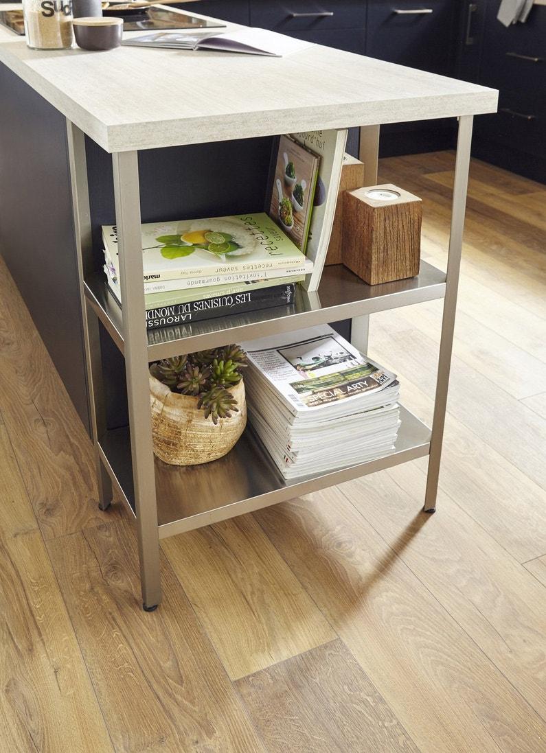 du rangement astucieux sous votre plan de travail leroy merlin. Black Bedroom Furniture Sets. Home Design Ideas