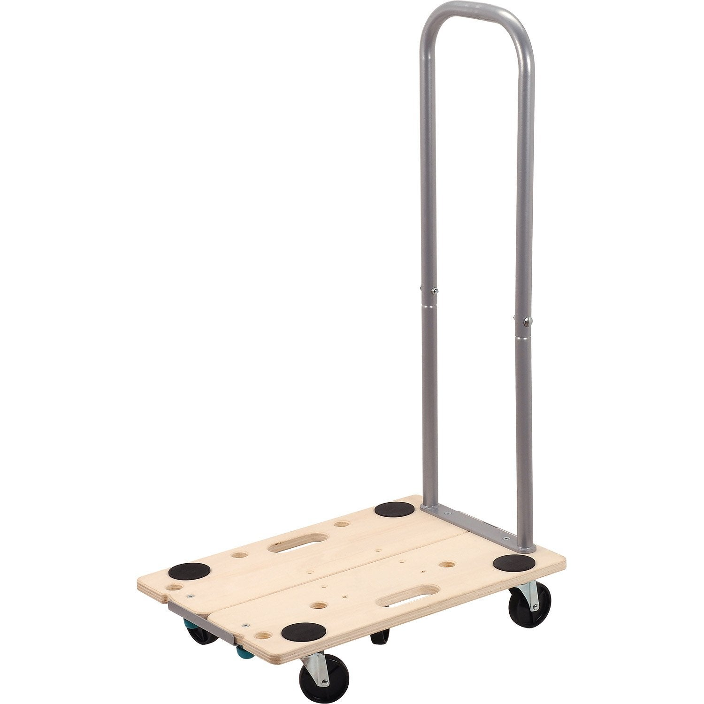 plateau roulant modulable manutention bois charge support e 200 kg wolfcraft leroy merlin. Black Bedroom Furniture Sets. Home Design Ideas
