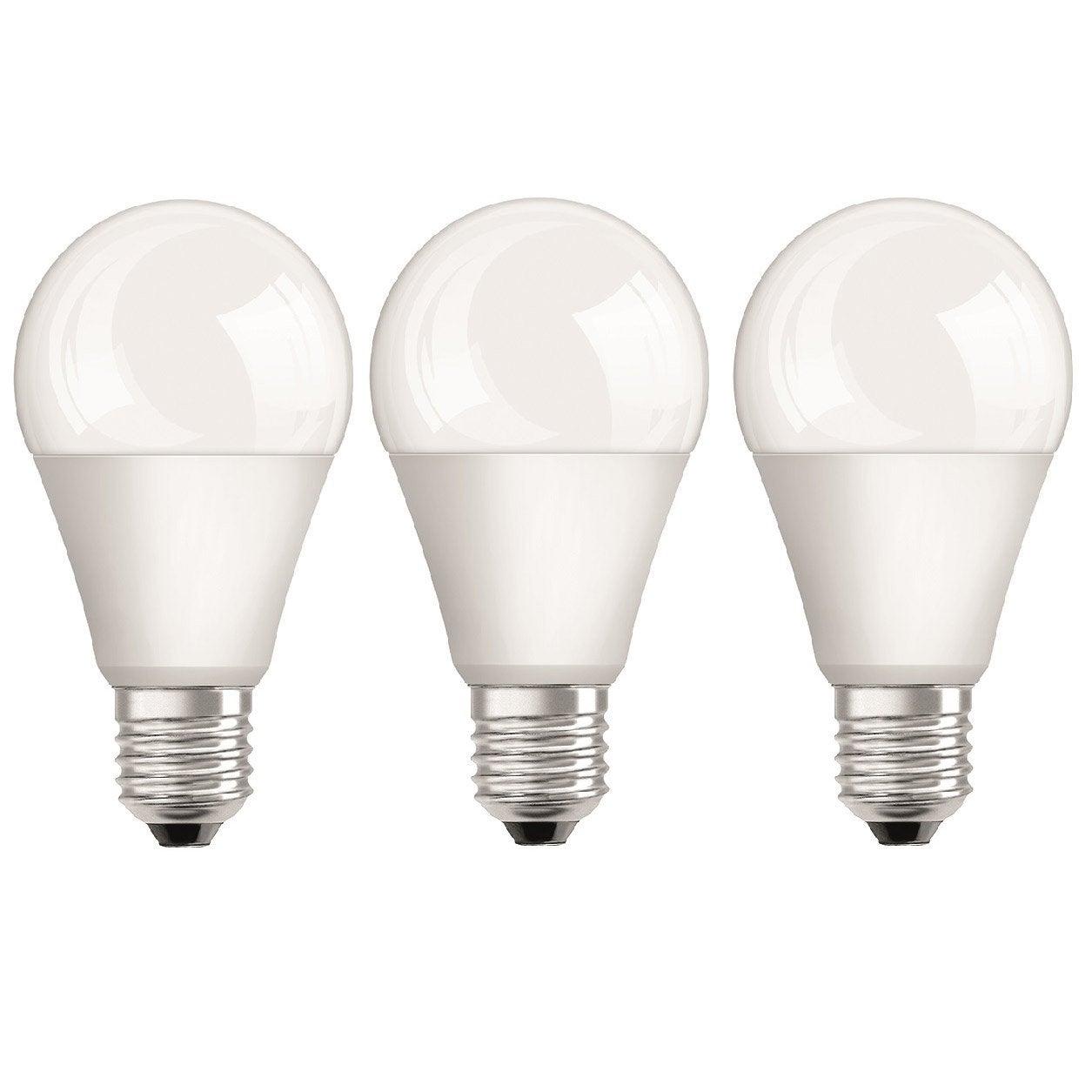 ampoule led e27 9 5w 806lm quiv 60w 2700k osram lot. Black Bedroom Furniture Sets. Home Design Ideas