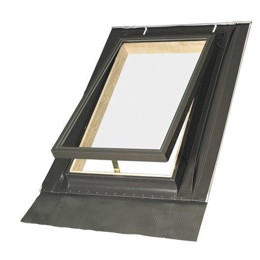 raccord pour fen tre de toit fakro elj gris leroy merlin. Black Bedroom Furniture Sets. Home Design Ideas