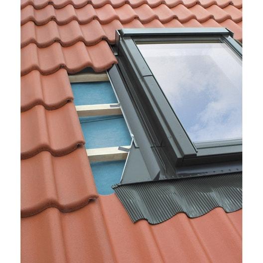 raccord pour fen tre de toit fakro ehv gris leroy merlin. Black Bedroom Furniture Sets. Home Design Ideas