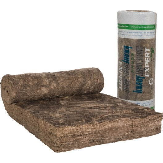 laine de verre nu knauf insulation 2 5 x 1 2 m ep 240 mm 035 r leroy merlin. Black Bedroom Furniture Sets. Home Design Ideas