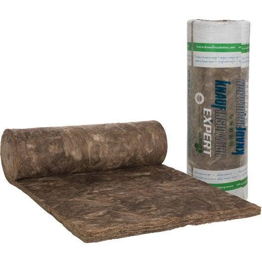 laine de verre nu knauf insulation 7 2 x 1 2 m ep 80 mm 035 r leroy merlin. Black Bedroom Furniture Sets. Home Design Ideas