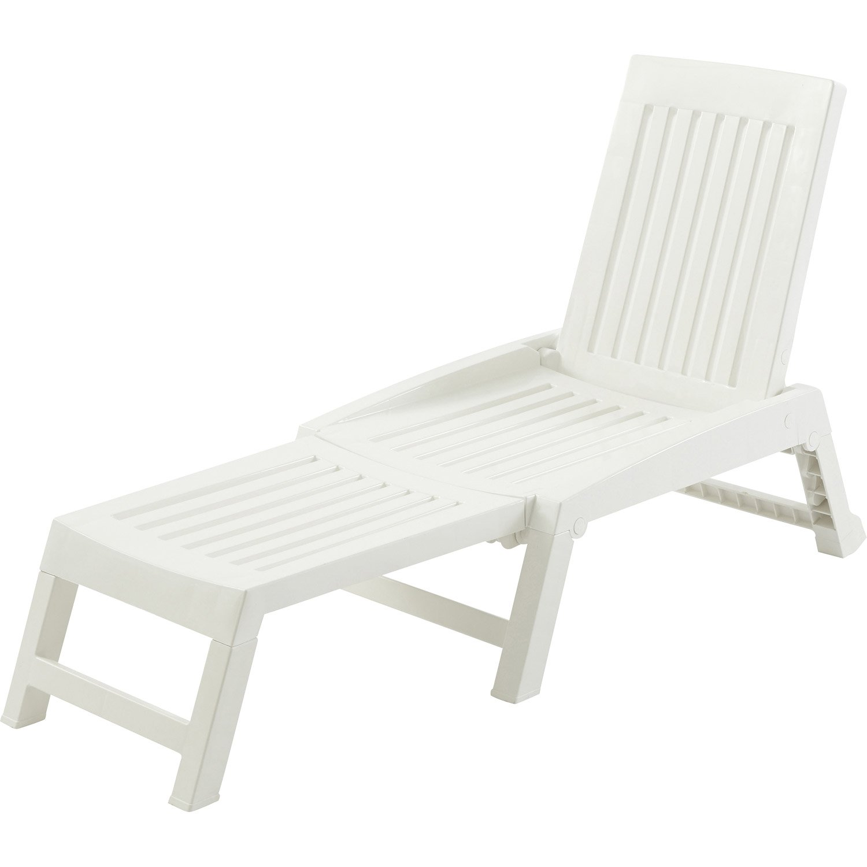 bain de soleil de jardin en r sine inject e orf o blanc leroy merlin. Black Bedroom Furniture Sets. Home Design Ideas