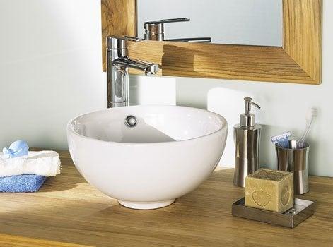 Bien choisir ses accessoires de salle de bains leroy merlin for Accessoires lavabo salle bain
