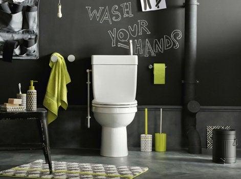 Bien choisir ses accessoires de salle de bains leroy merlin for Accessoires wc