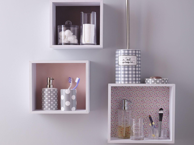 Accessoires et miroirs de salle de bains leroy merlin for Accessoires de salle de bain