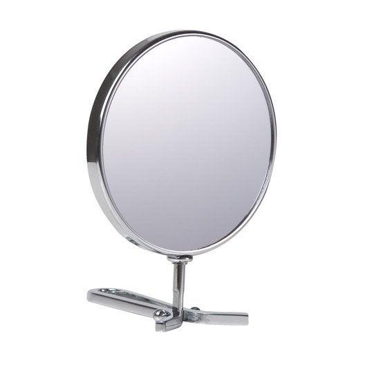 Miroir grossissant miroir de salle de bains au meilleur for Miroir rond grossissant
