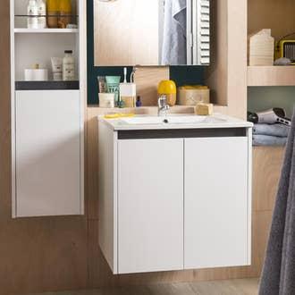 meuble de salle de bains conomique et pratique - Images Salle De Bain