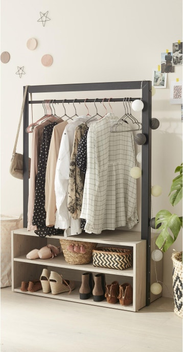 portant pour v tements et housse pour penderie au meilleur prix leroy merlin. Black Bedroom Furniture Sets. Home Design Ideas