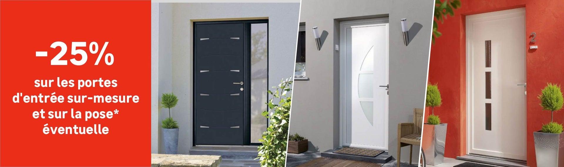 Fenêtre, porte d\'entrée, porte de garage, store banne - Menuiserie ...