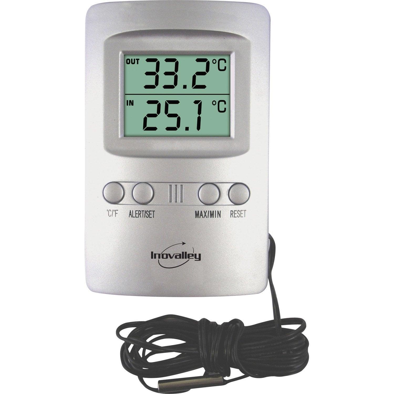 Termometre D Interieur Et D Exterieur