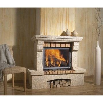 Habillage cheminée en pierre, CHINVEST USINE DARGEMONT, Cabries linteau pierre