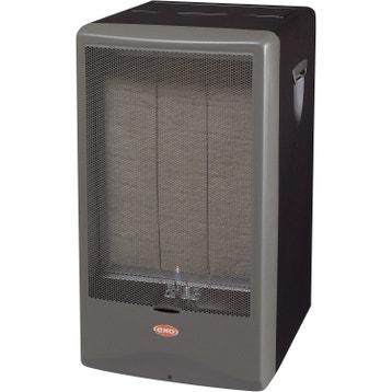 chauffage d 39 appoint gaz au meilleur prix leroy merlin. Black Bedroom Furniture Sets. Home Design Ideas