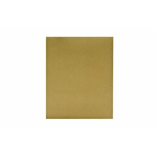 Feuille abrasive 230x280 mm grains 180 leroy merlin - Feuille stratifie leroy merlin ...