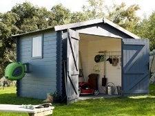 bien ranger son abri de jardin leroy merlin. Black Bedroom Furniture Sets. Home Design Ideas
