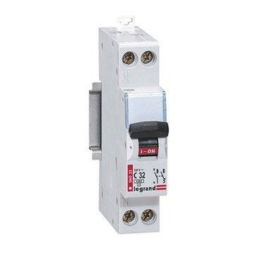 Disjoncteur phase + neutre LEGRAND 32 A