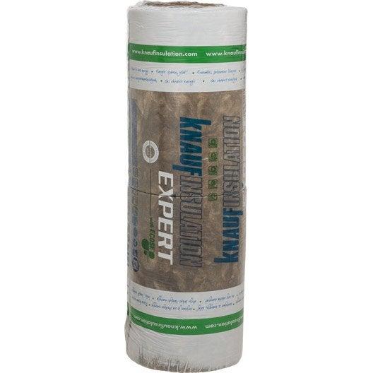 4 rlx de laine de verre nu knauf insulation 5 4 x ep 70 mm 037 r 1 8 - Coefficient r laine de verre ...