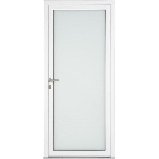 porte d 39 entr e aluminium julia artens poussant droit x cm leroy merlin. Black Bedroom Furniture Sets. Home Design Ideas