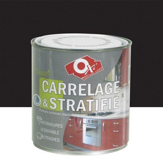 Peinture carrelage et stratifi oxytol ox 39 encre noire 0 for Peinture carrelage v