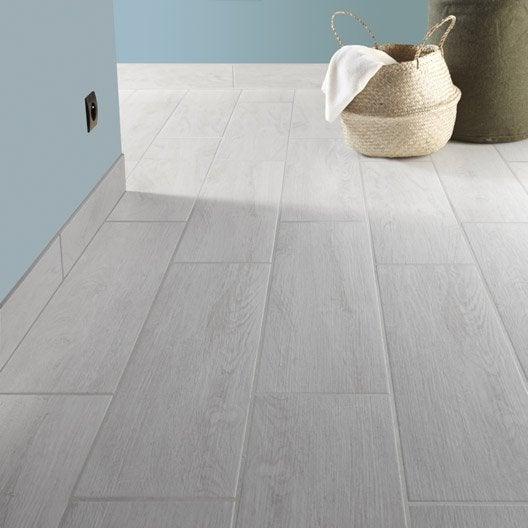 carrelage sol et mur blanchi effet bois helsinki x cm leroy merlin. Black Bedroom Furniture Sets. Home Design Ideas