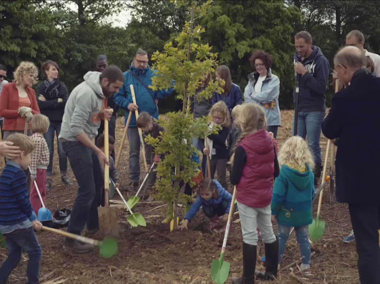 Histoire d'un parquet qui plante des arbres