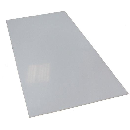 plaque polystyr ne blanc laiteux lisse x cm 2 5. Black Bedroom Furniture Sets. Home Design Ideas