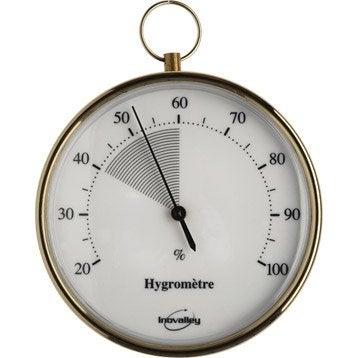 Hygromètre intérieur ou extérieur INOVALLEY 9060