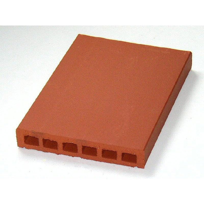 Couvre Mur Plat Lisse Rouge H 5 X L 40 X P 28 Cm