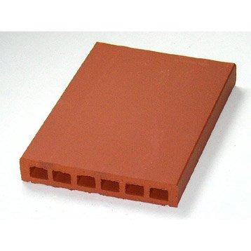 Couvre-mur terre cuite plat H.5 x L.40 x P.28 cm