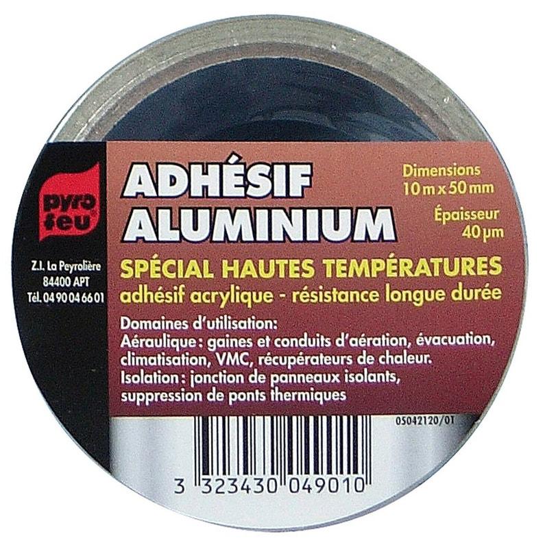 Ruban Adhésif Aluminium 10 M Pyrofeu