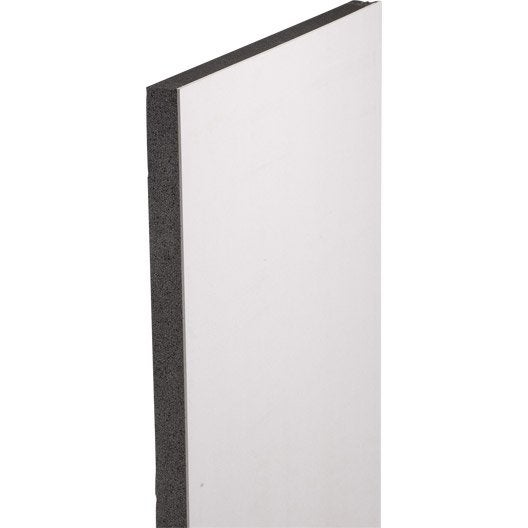 doublage en polystyr ne expans th 32 siniat 2 5 x ep 10 80mm r leroy merlin. Black Bedroom Furniture Sets. Home Design Ideas