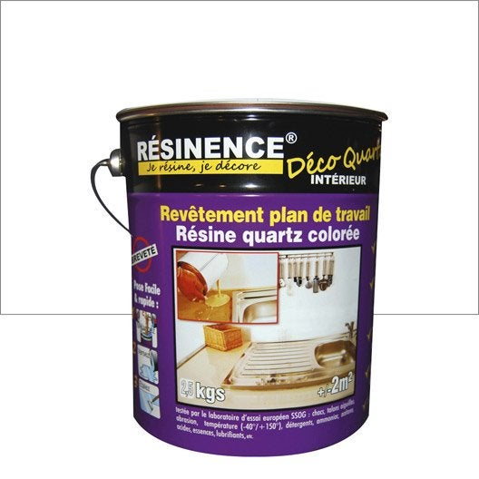 R sine color e cuisine et bain resinence r sine plan de for Resine pour plan de travail cuisine