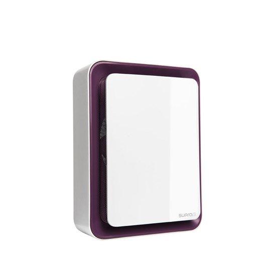 radiateur soufflant salle de bain supra zitto aubergine 1800w leroy merlin. Black Bedroom Furniture Sets. Home Design Ideas