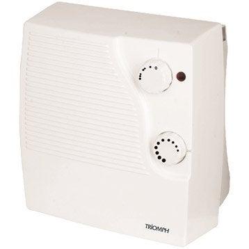 Radiateur soufflant radiateur ceramique soufflant salle de bain leroy merlin - Chauffage de salle de bain a fixation murale ...