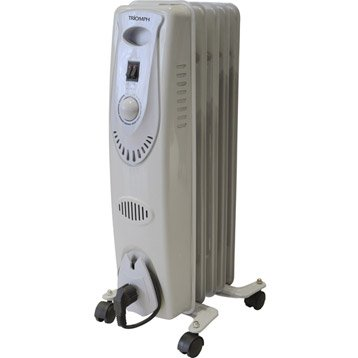 radiateur bain d 39 huile chauffage d 39 appoint et climatisation mobile leroy merlin. Black Bedroom Furniture Sets. Home Design Ideas