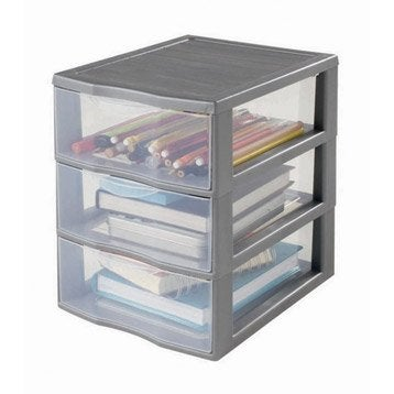 boite de rangement boite plastique pin carton au meilleur prix leroy merlin. Black Bedroom Furniture Sets. Home Design Ideas