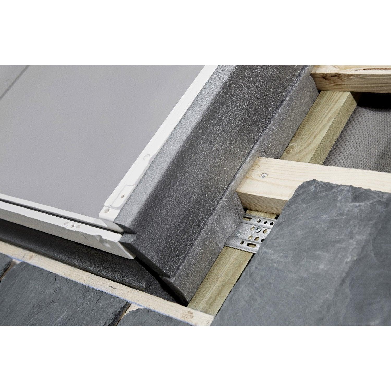 raccord pour fen tre de toit velux el ck01 6000 gris leroy merlin. Black Bedroom Furniture Sets. Home Design Ideas