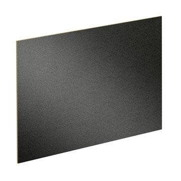 Lot de 2 panneaux Effet métal clair / métal foncé SPACEO l.96.9 x H.61.4 cm