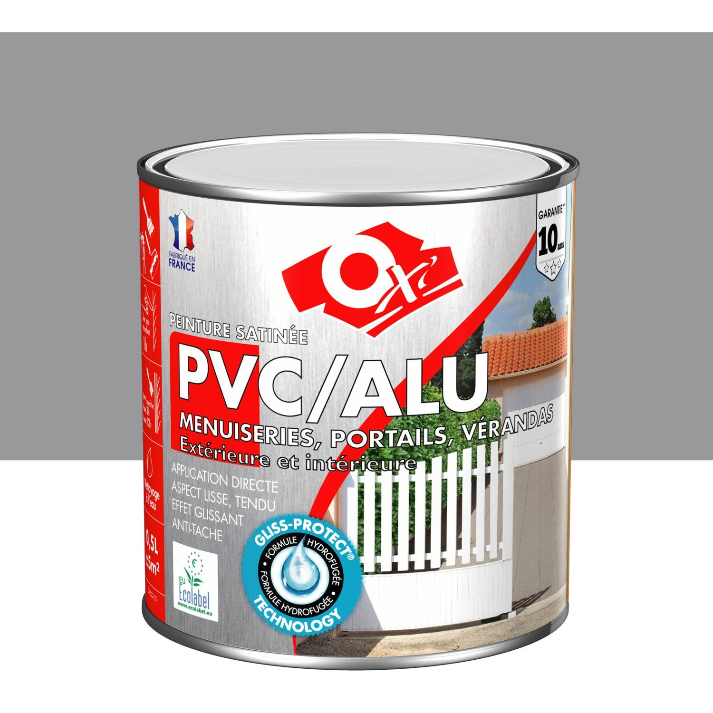 Incroyable Peinture PVC / Aluminium / Galva Extérieur Oxy OXYTOL, Gris Titane, ...