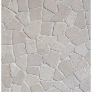 Mosaïque Sol Et Mur Puzzle Ivoire