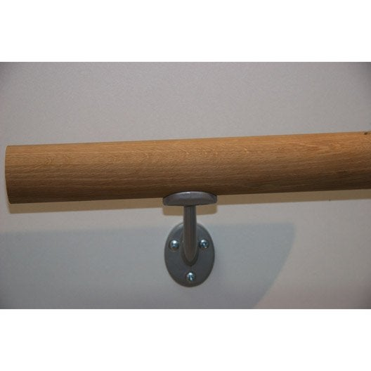 kit main courante chene brut 2 m leroy merlin. Black Bedroom Furniture Sets. Home Design Ideas